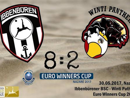 8:2 Sieg gegen die Winti Panthers // Die ersten internationalen Punkte sind in der Tasche