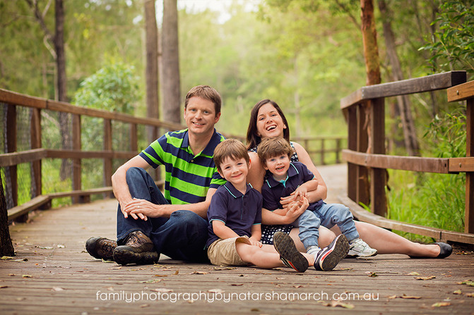 That Time We Made a Sandcastle - Brisbane Family Photographer