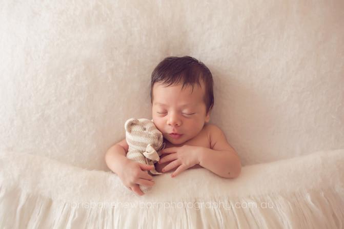 Baby Max - Brisbane Newborn Photographer
