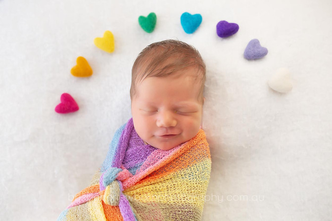 Rainbow Babies - Brisbane Newborn Photographer