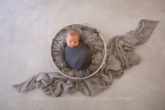 Baby Toby - North Brisbane Newborn Photographer
