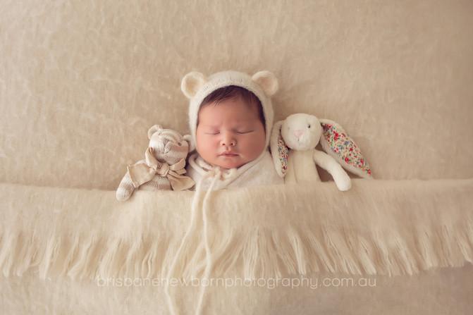 Baby Ariyah - North Brisbane Newborn Photographer