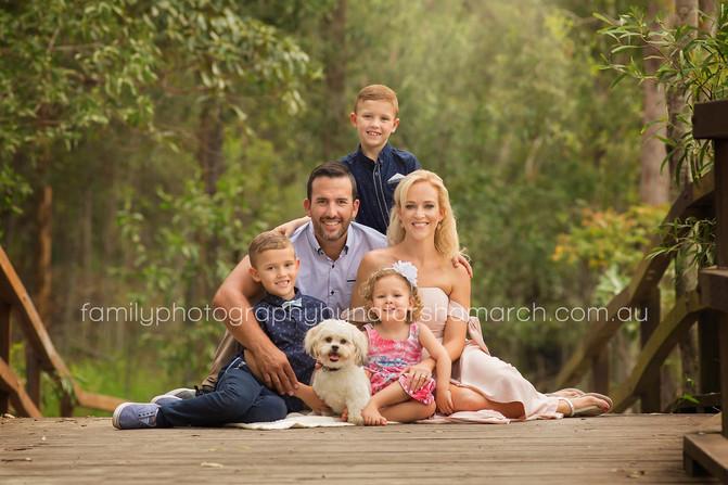 Van de Graaff Family - Brisbane Family Photographer
