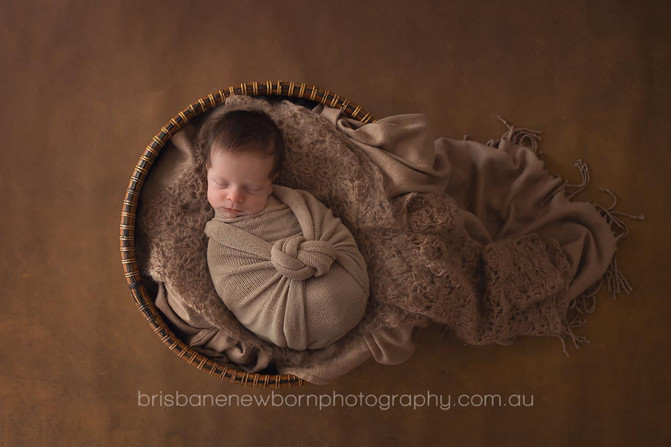 Baby Sonny - North Brisbane Newborn Photographer