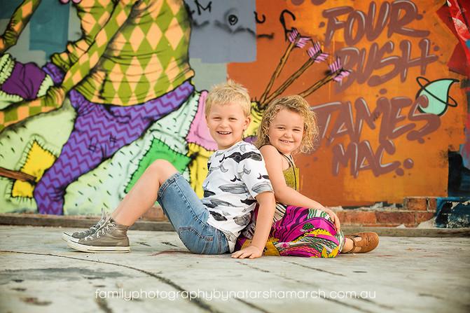 Going Urban - Family Photographer Brisbane