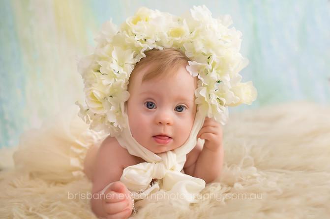 Baby Caitlin - Brisbane Baby Photographer