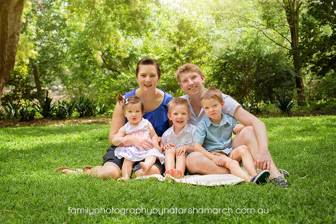 Family Fun at the Gardens - Family Photographer Brisbane