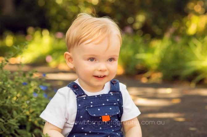 Hunter 1 Year Old - Brisbane Baby Photographer