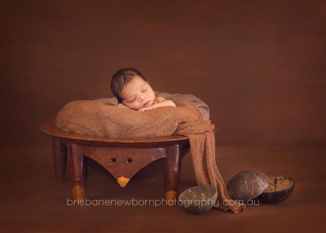 Baby Izaiah - North Brisbane Newborn Photographer