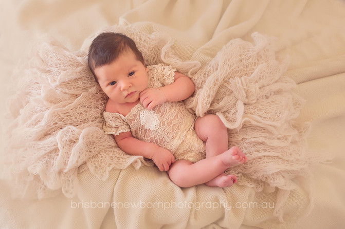 Baby Mabel - Brisbane Newborn Photographer