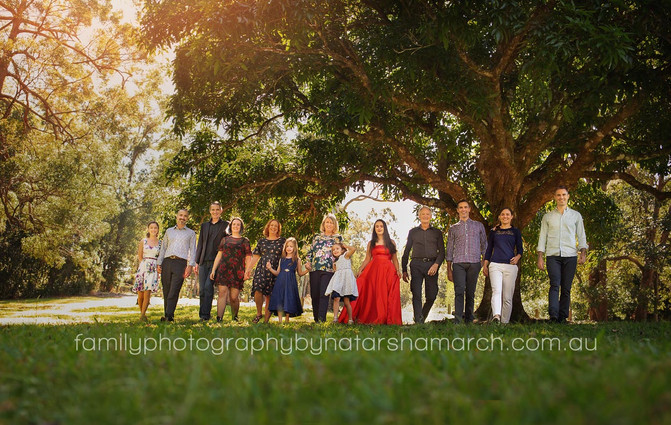 Extended Family Session - North Brisbane Family Photographer
