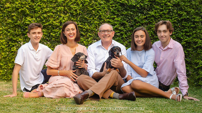 Chapman Family - North Brisbane Family Photographer