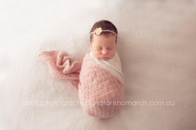 Baby Tigerlily - Newborn Photography Brisbane