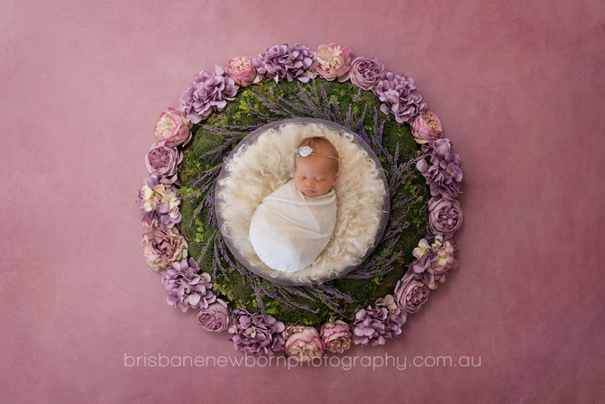 Baby Madelyn - Newborn Photographer North Brisbane