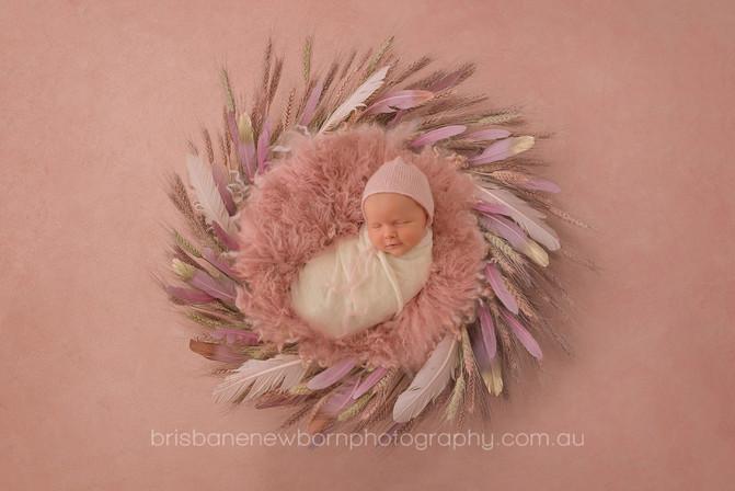 Baby Savannah - North Brisbane Newborn Photographer