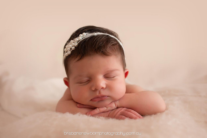 Baby Mila - North Brisbane Newborn Photographer