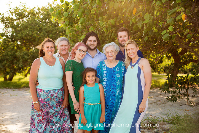 Sunset and Seabreeze - Family Photographer Brisbane