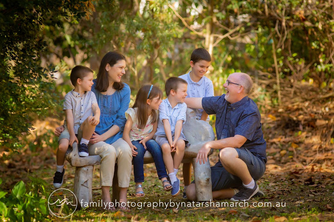 Martin Family - Family Photographer Brisbane