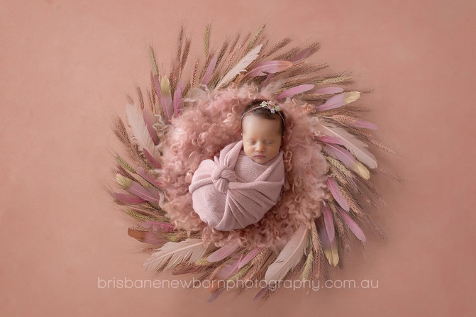 Baby Alayah - North Brisbane Newborn Photographer