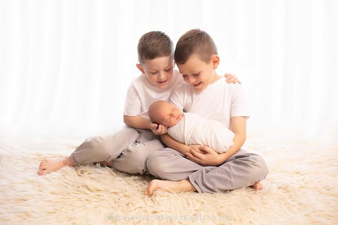 Baby Harvey - Brisbane Newborn Photographer