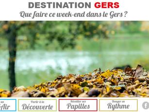 """Du nouveau dans la newsletter """"Que faire ce week-end dans le Gers ?"""""""