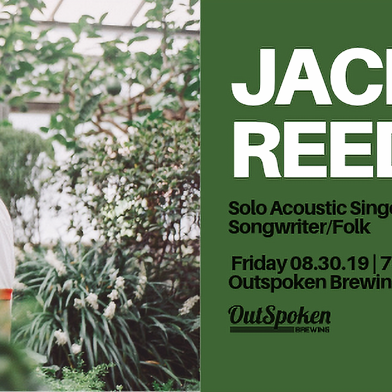 Jackson Reed live at OutSpoken