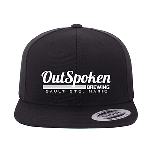 OutSpoken Classic Snapback Visor (1).png
