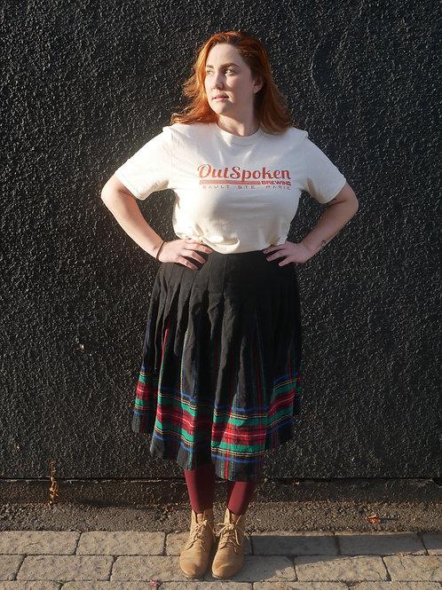 OutSpoken Cream T-shirt