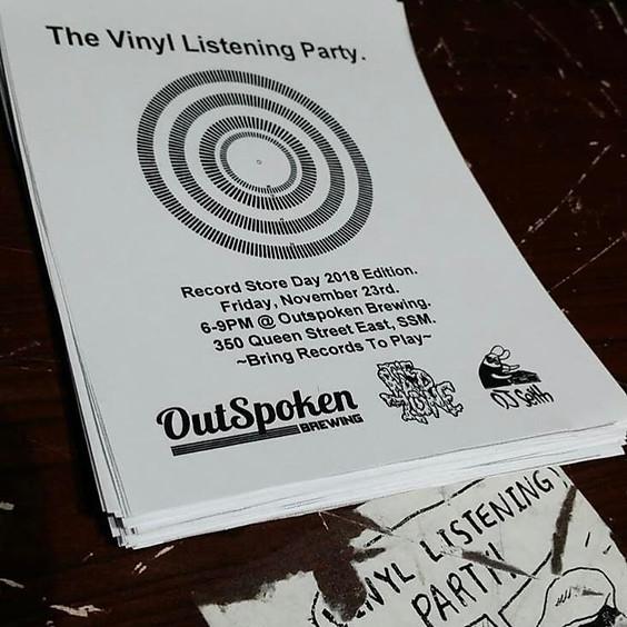 The Vinyl Listening Party