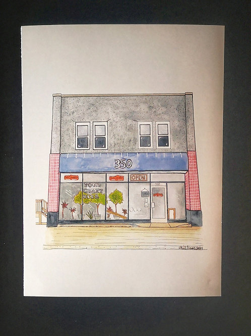 OutSpoken Brewing Print - Amy Williams