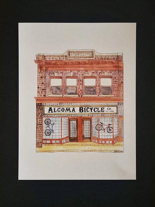 Algoma Bicycle Company Print - Amy Williams