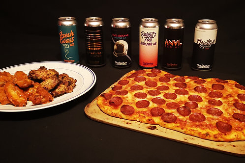 Beer, Pizza & Wing Kit
