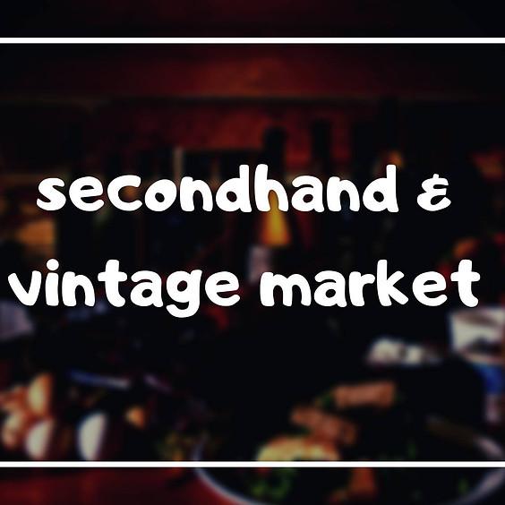 Secondhand & Vintage Market at Outspoken Brewing
