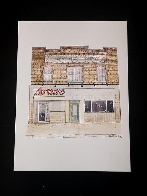 Arturo Restaurant Print - by Amy Williams
