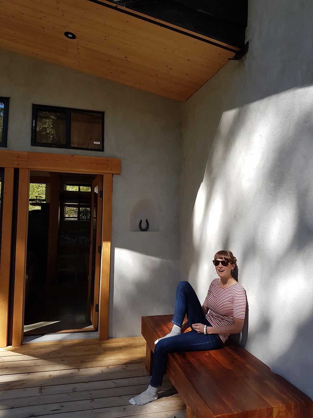 Emily Nilsen,, writer in residence.