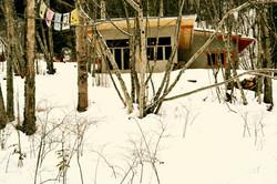 Solitude and meditation - winter