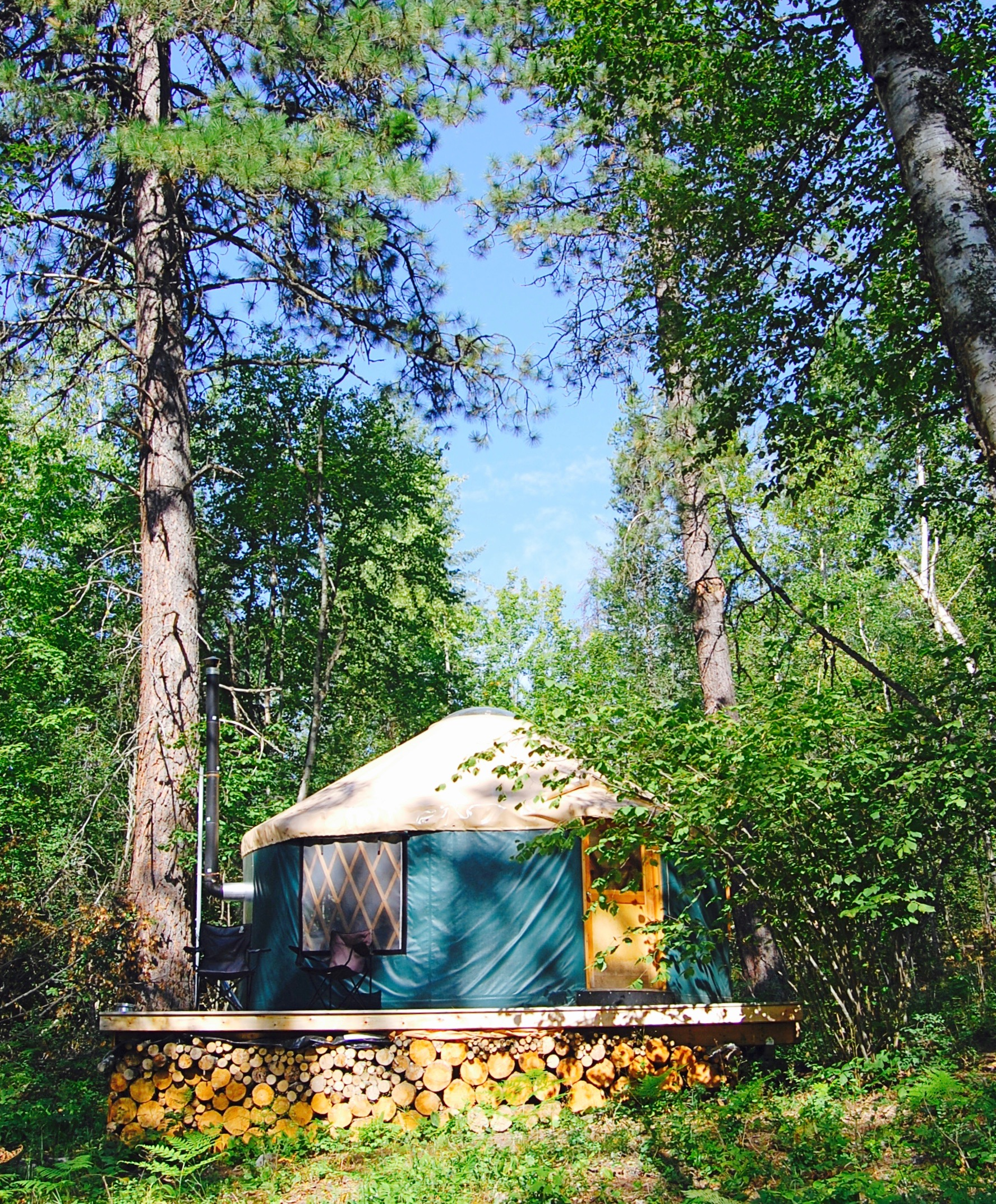 The Yurt at Hidden Creek