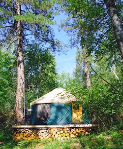 The Yurt at Hidden Creek