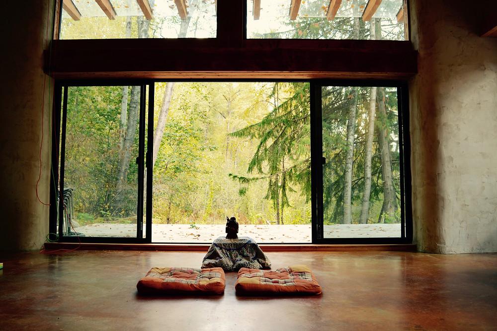 Peaceful retreat.