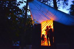 Evening in the Yurt