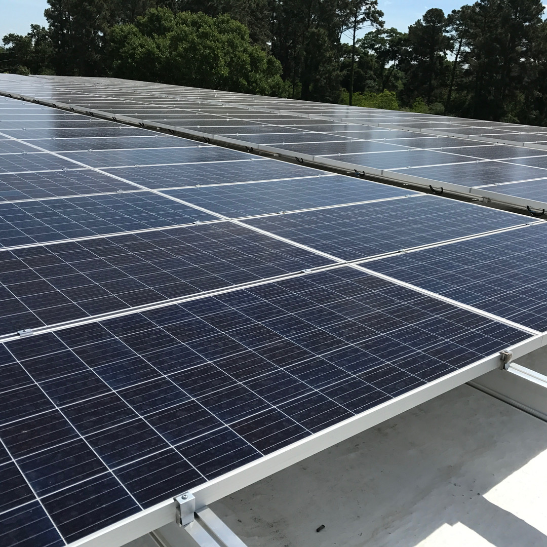 Commercial rooftop system.