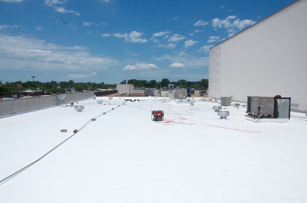 """Cool """"white"""" roof lowers electricity cost by cooling the building."""