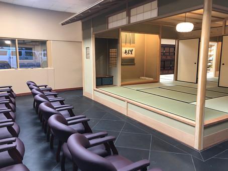 Mochizuki Cultural Center dedication by Urasenke