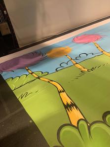 Dr. Seuss Backdrop