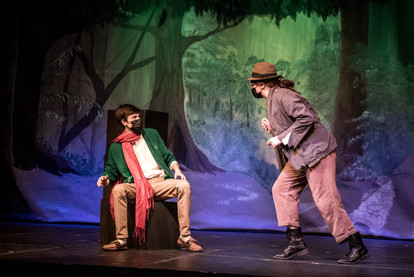 Forest Backdrop in INTO THE WOODS