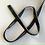 Thumbnail: Passepoil billes argentées par 50 cm