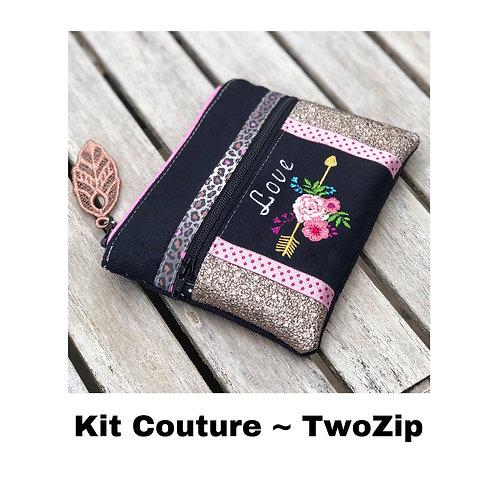 Kit Couture ~ TwoZip Boho Love noir