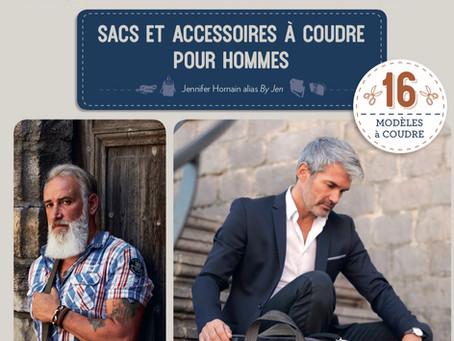 livre 2 : Sacs et Accessoires à coudre pour hommes