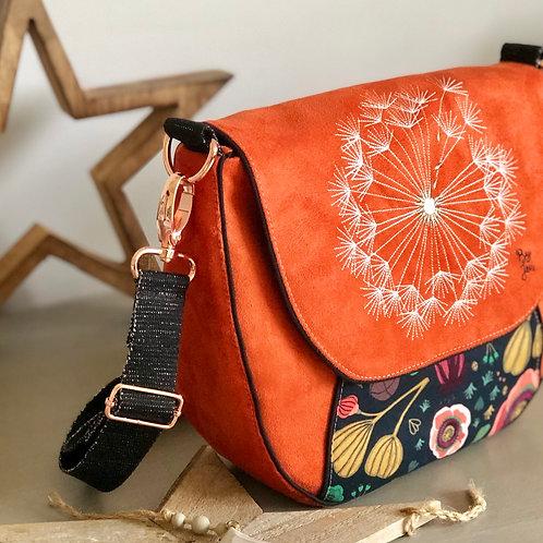 Besace Ronde ~ Dandelion orange