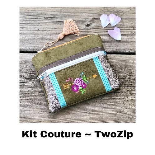 Kit Couture ~ TwoZip Boho Kaki